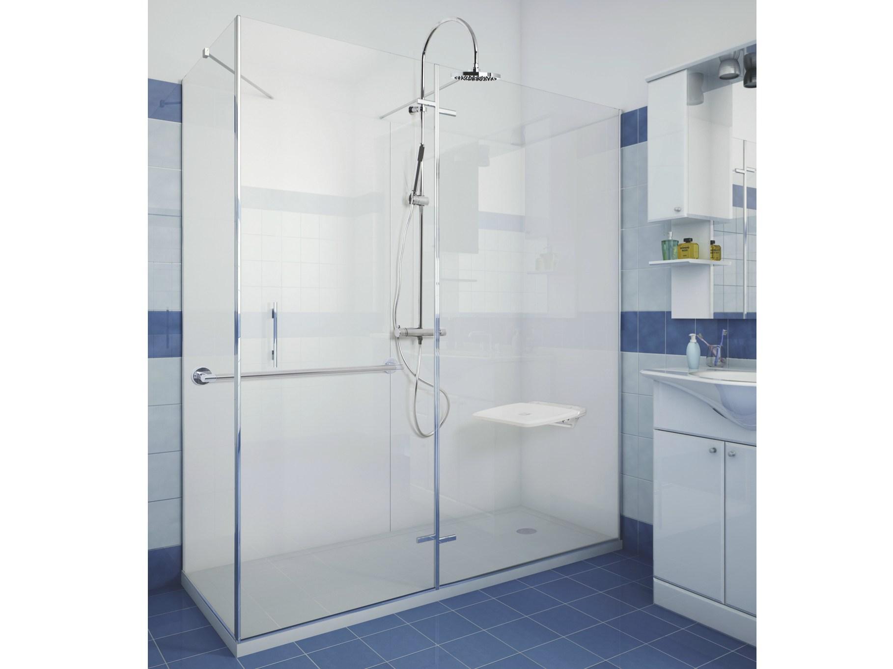 Vasca Da Bagno Per Anziani Misure : Docce per anziani e disabili sostituzione vasca in doccia